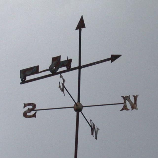 Weather Vane on Bury Farm