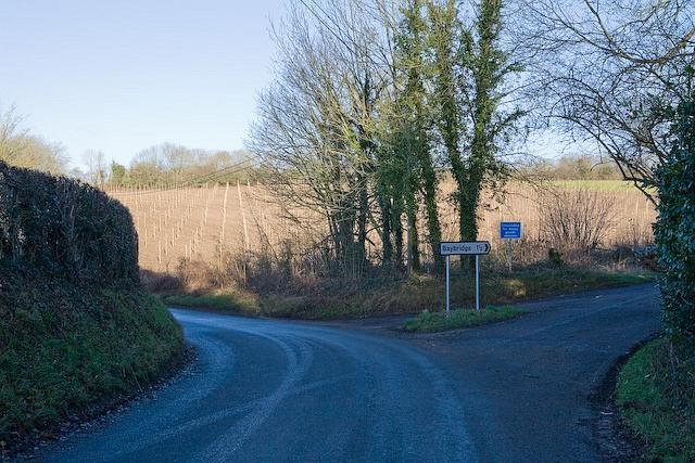 Junction of Lower Baybridge Lane and Whaddon Lane, Owslebury
