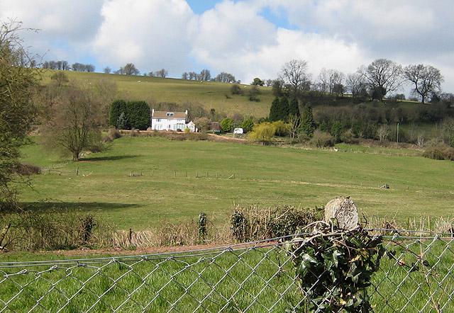 House on a hillside, Littledean