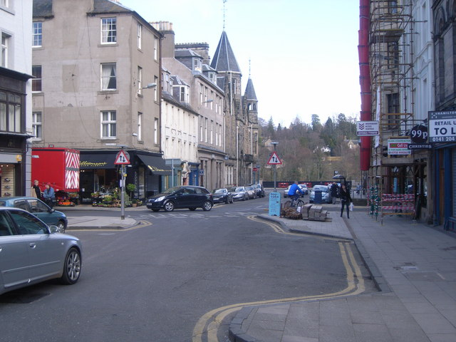 Junction of George Street & High Street