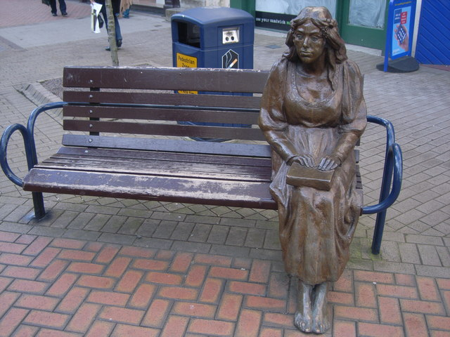 Sculpture in Perth High Street