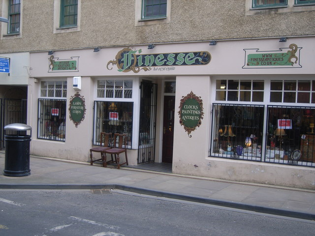 Finesse Antiques, Old High Street, Perth