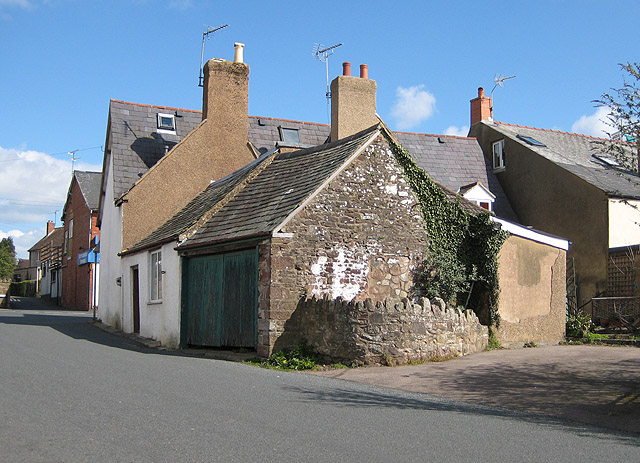 Garage built from local stone, Littledean