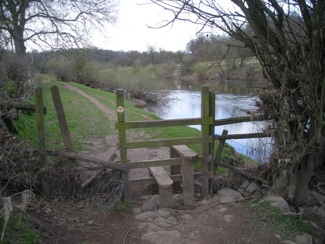 Another stile on the Severn Way