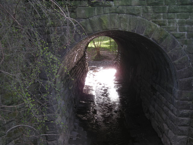 Culvert beneath the SVR
