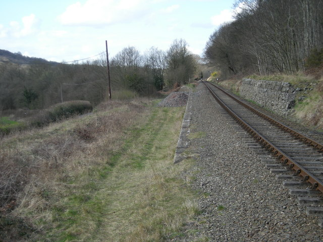All that remains of Dowles Junction