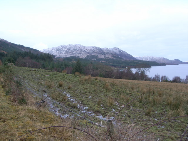 Looking towards Slatterdale across Loch Maree