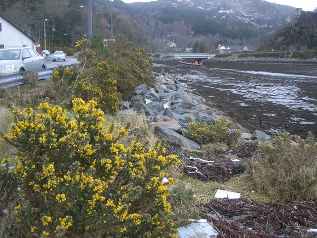 Gairloch Harbour - looking upstream