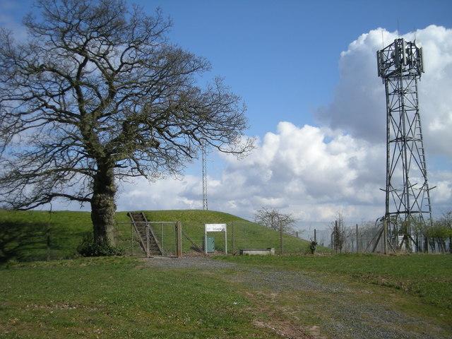 Reservoir & phone mast