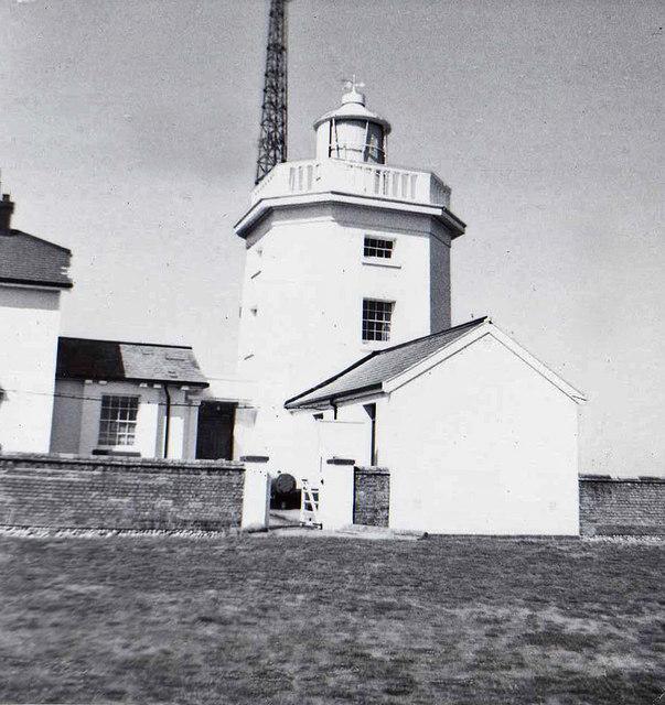 Cromer Lighthouse, Norfolk, taken 1961