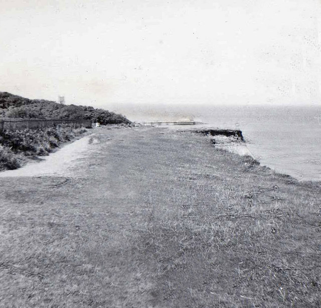 Cliff top, Cromer, Norfolk, taken 1961