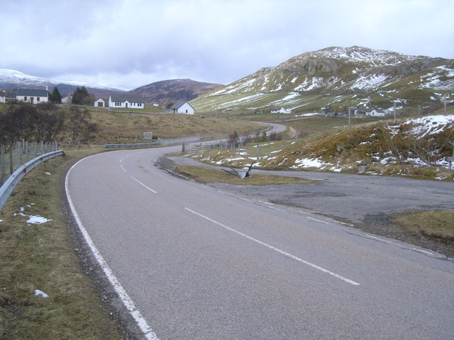 A835 looking north