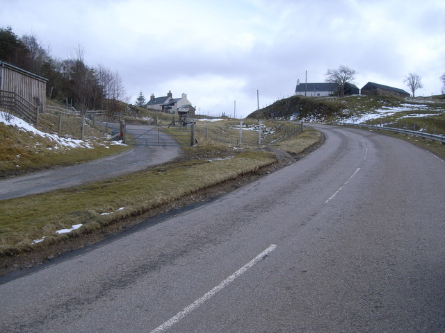 A835 looking south