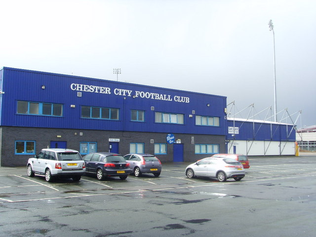 Chester City Football Club Stadium