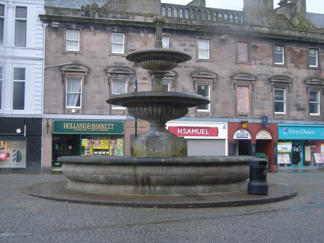 Fountain, Elgin