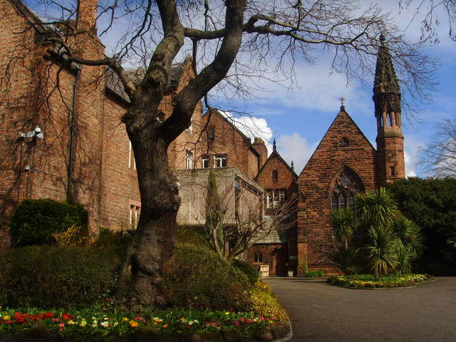 University of Chester Main Entrance and Chapel