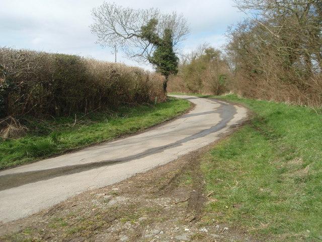 Back lane, Great Gidding