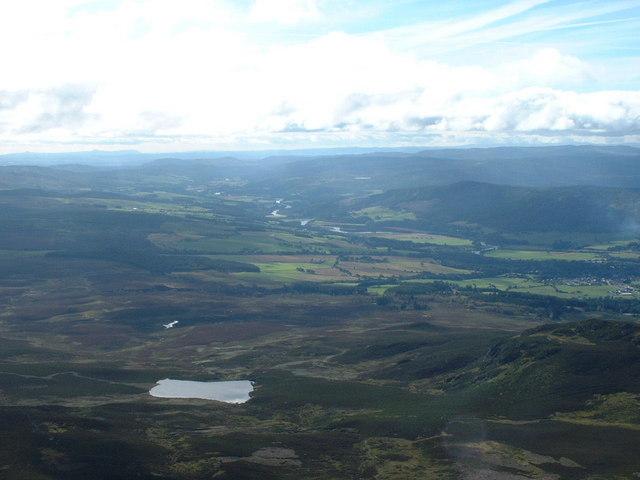 Reservoir on slopes of Ben Vrackie