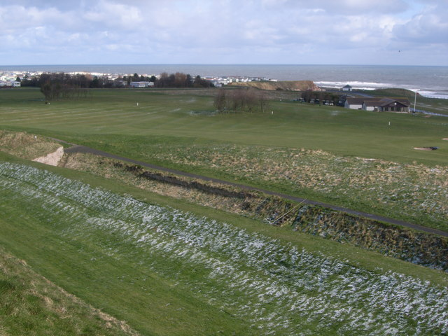 Looking out to the coast (taken from the city walls)