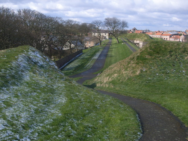 Berwick-upon-Tweed walls