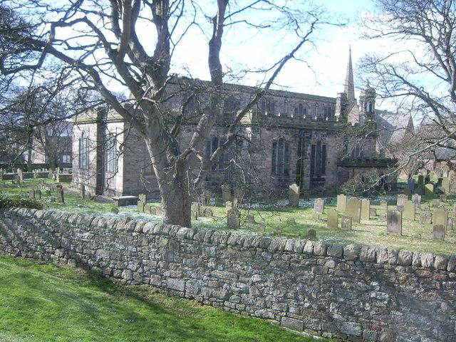 Berwick-upon-Tweed walls (Church)