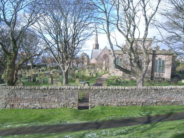 Berwick-upon-Tweed walls (two churches)