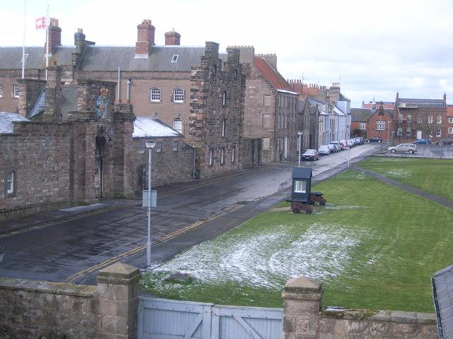 Berwick-upon-Tweed walls (Barracks)