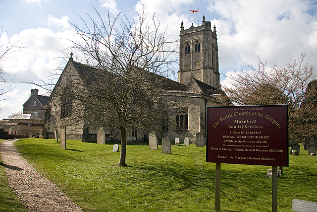 Parish church of St Gregory - Marnhull