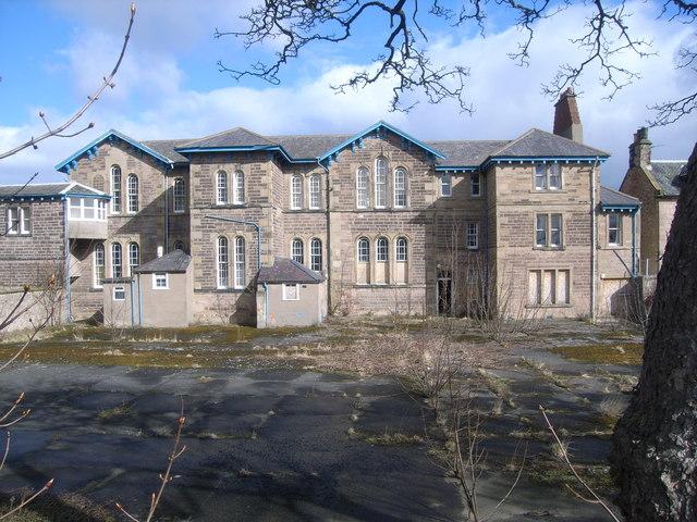 Derelict school buildings