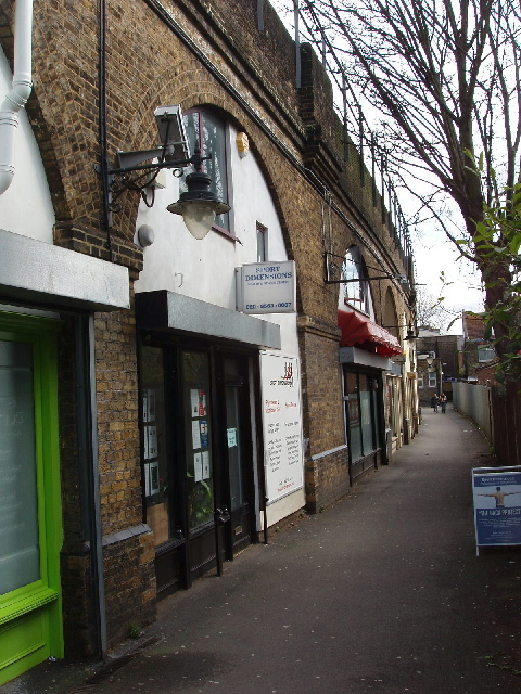 Sports businesses under the arches, Stamford Brook
