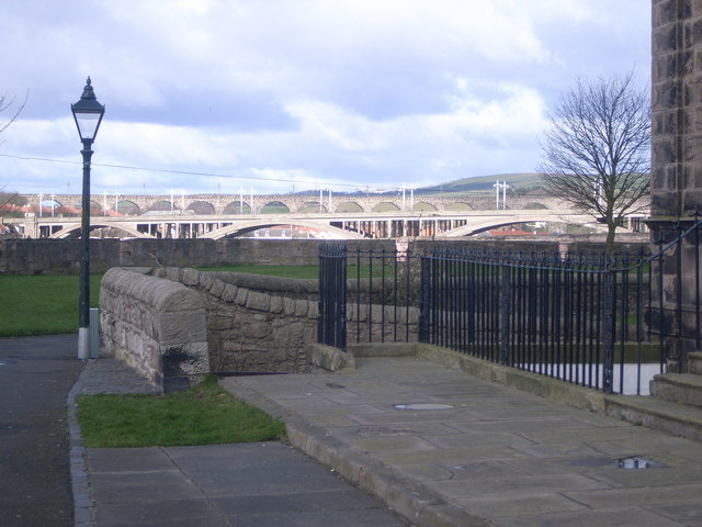 A view of the bridges