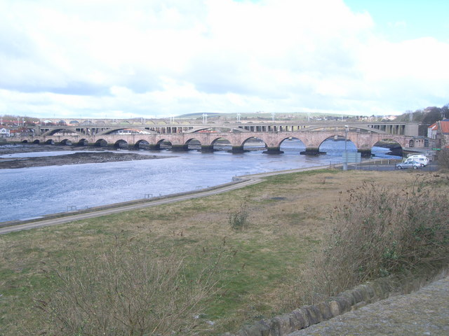 The bridges of Berwick-upon-Tweed