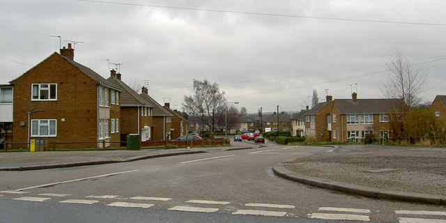 Housing estate off West Hill Road East Retford