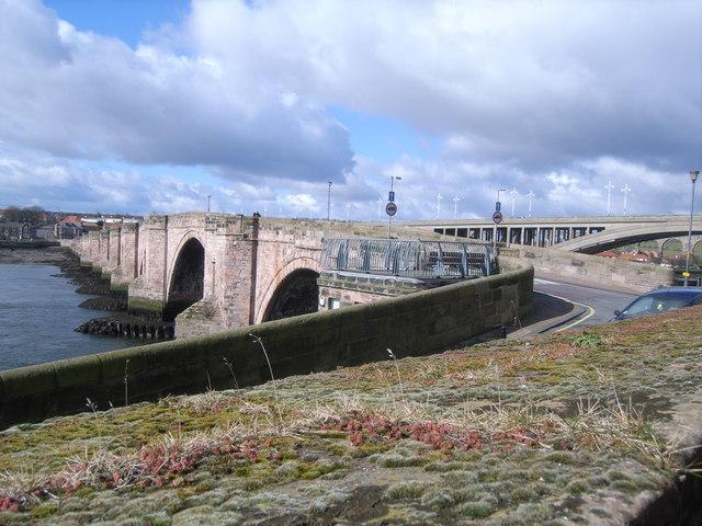 Berwick-upon-Tweed walls (road bridge)