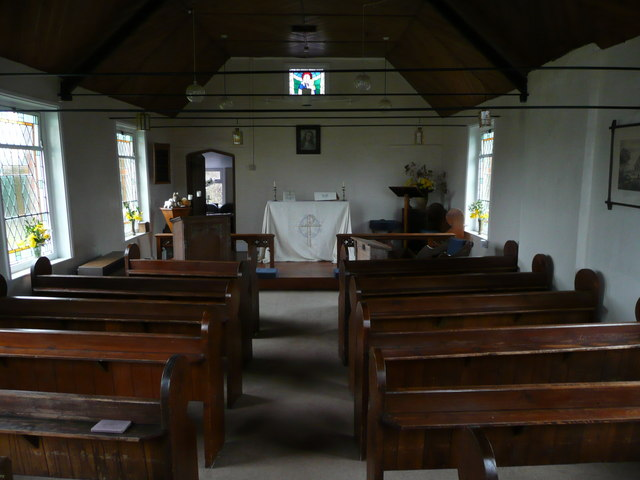 St. Mary's church, interior