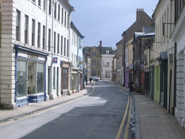 Looking along Bridge Street, Berwick-upon-Tweed