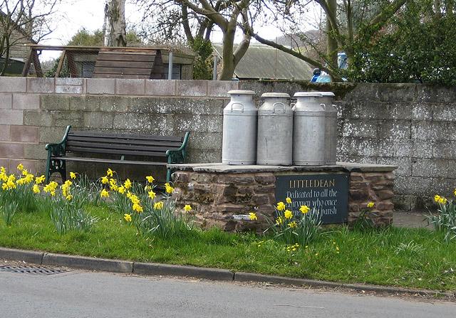 Memorial at Littledean