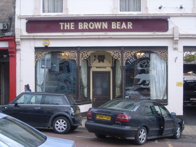 The Brown Bear pub, Hide Hill