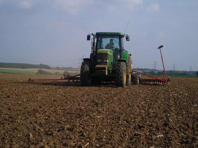 Sowing Winter Wheat