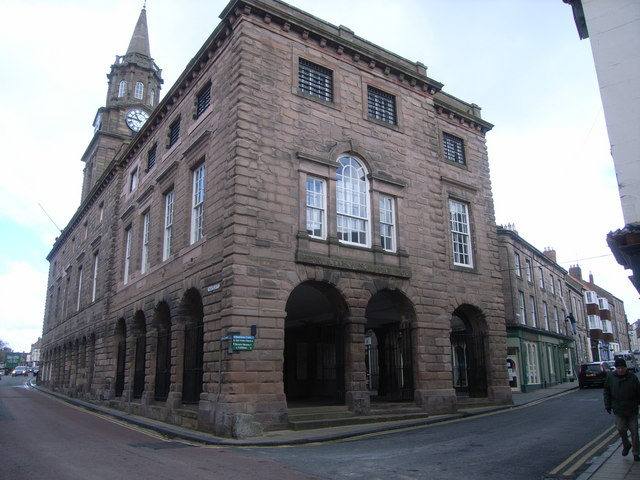 Building to Rear of Town Hall