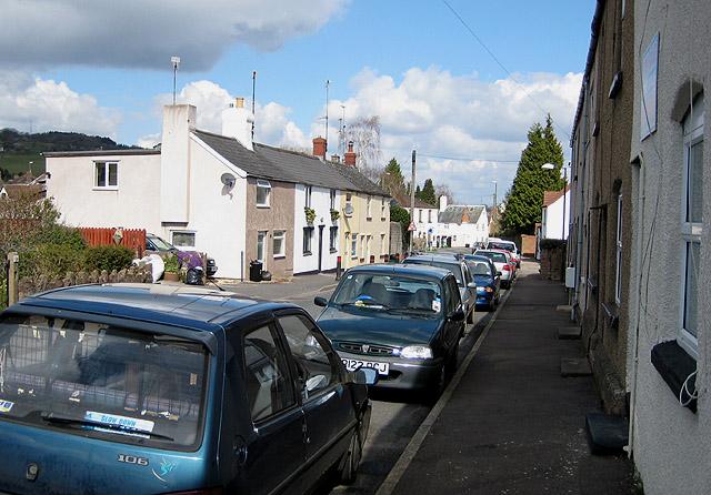 Cottages in Silver Street, Littledean