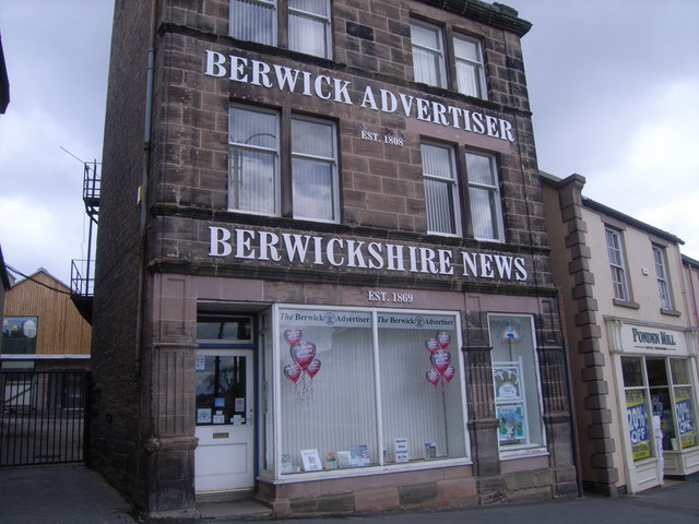 Berwick Advertiser building, Castlegate