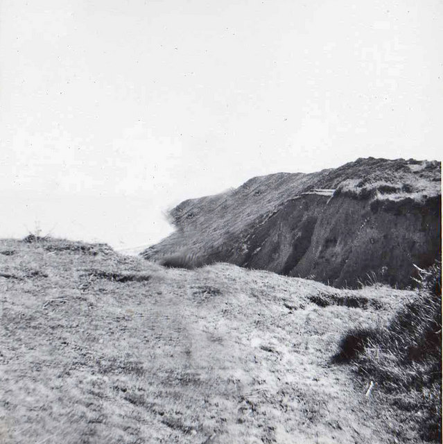 Cromer Cliff tops, Norfolk, taken 1961