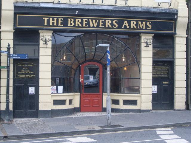 The Brewers Arms pub, Castlegate