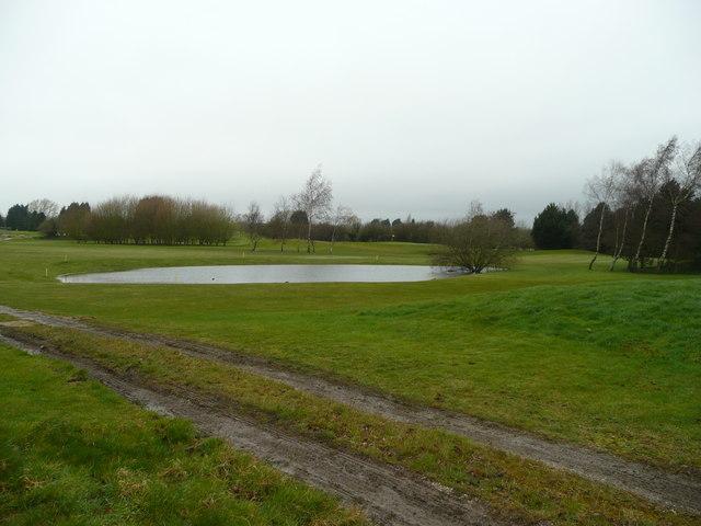 Lake at Weston Turville Golf Club