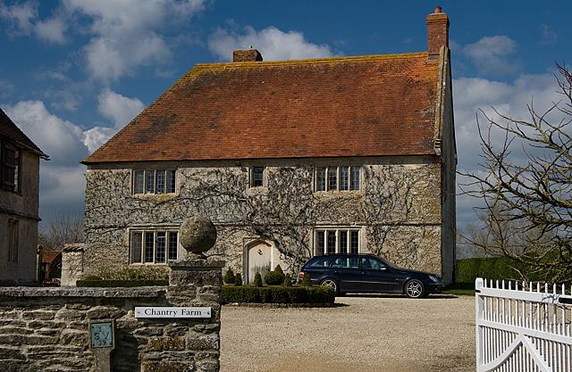 Chantry Farmhouse, formerly Pope's Farmhouse - Marnhull