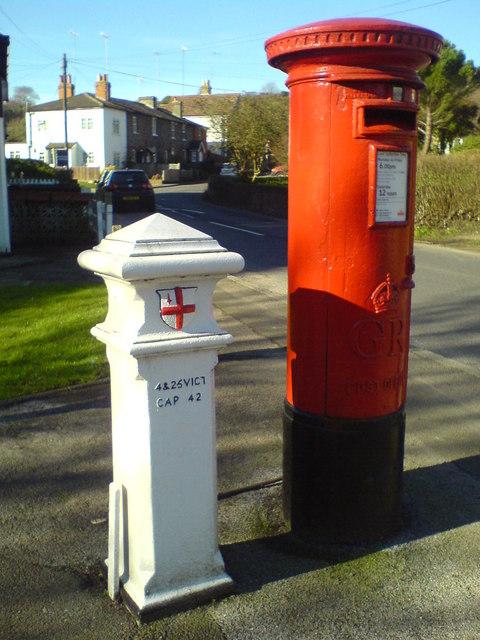 Coal Post and pillar box, Old Hill
