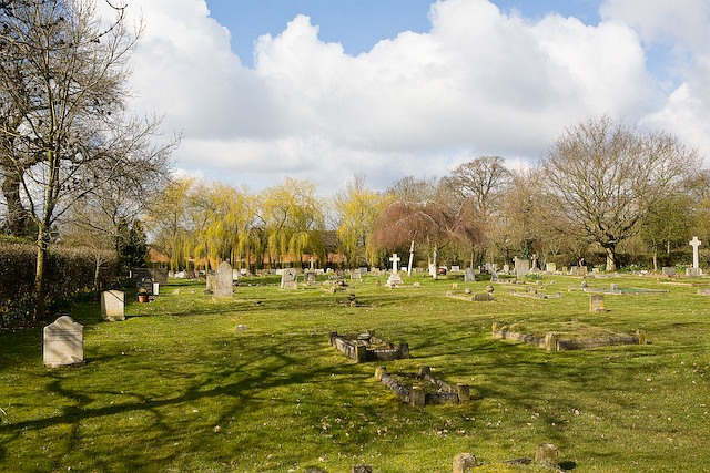 Denmead Burial Ground, Cemetery Lane