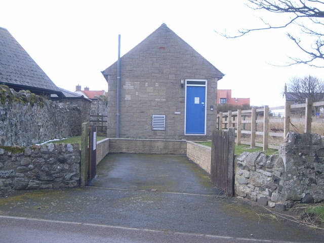Holy Island - telephone exchange