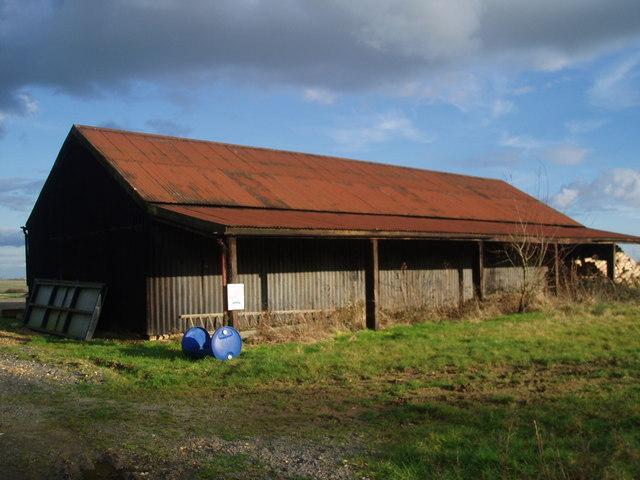 Corrugated iron barn